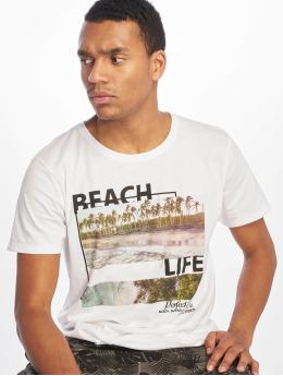 Stitch & Soul T-Shirt Beach Life blanc
