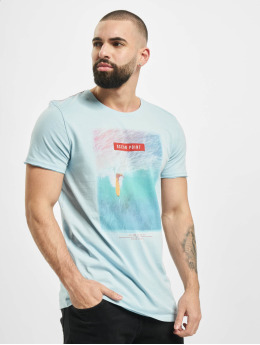 Stitch & Soul T-Shirt Mystic  blau