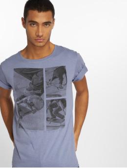 Stitch & Soul T-shirt Print blu