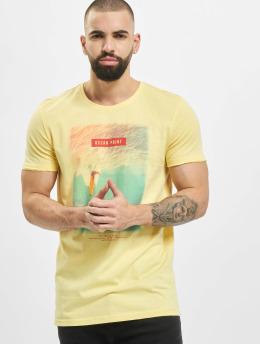 Stitch & Soul T-Shirt Mystic  gelb