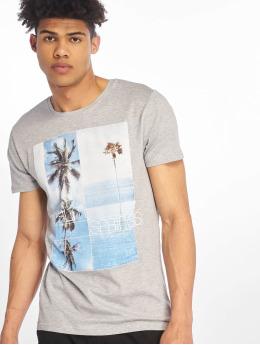 Stitch & Soul T-Shirt Palm Springs  grau