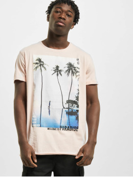 Stitch & Soul T-Shirt Paradise  rosa
