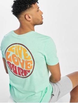 Stitch & Soul T-shirt Surf turchese