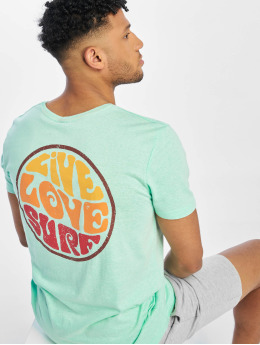 Stitch & Soul T-shirt Surf turkos