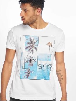Stitch & Soul T-Shirt Palm Springs weiß