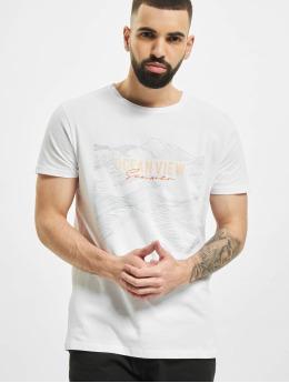 Stitch & Soul T-Shirt Ocean  weiß