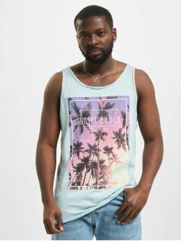Stitch & Soul Tank Top Sunset Beach blå