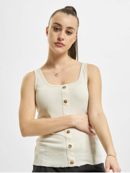 Stitch & Soul Top Rib  beige