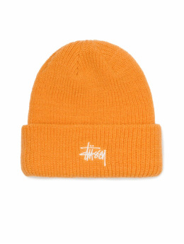 Stüssy Beanie Ho18 Basic Cuff orange