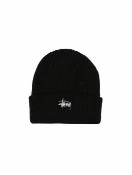 Stüssy Beanie Ho18 Basic Cuff schwarz