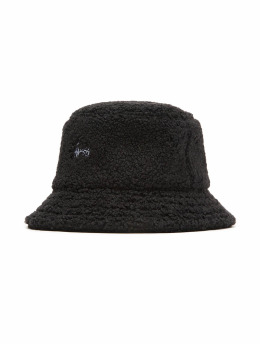 Stüssy Hut Sherpa Fleece schwarz