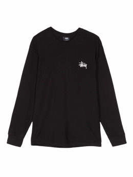 Stüssy Longsleeve Basic schwarz