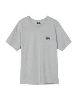 Stüssy T-Shirt Basic Stussy grau