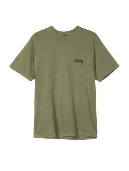 Stüssy T-Shirt 8 Ball Pig. Dyed khaki