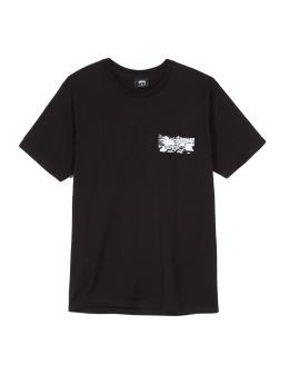 Stüssy T-Shirt Car Plunge Pkt schwarz