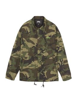 Stüssy Übergangsjacke Camo Cruize Coach camouflage