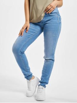 Sublevel Облегающие джинсы Senna  синий