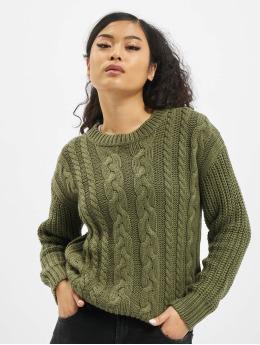 Sublevel Пуловер Knit зеленый