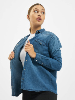 Sublevel Bluse Denim  blå