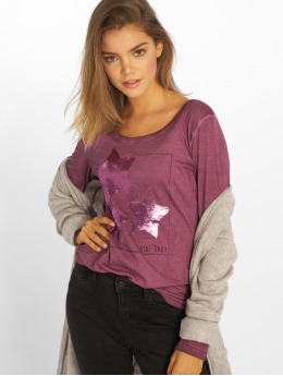 Sublevel Camiseta de manga larga Shine Baby púrpura