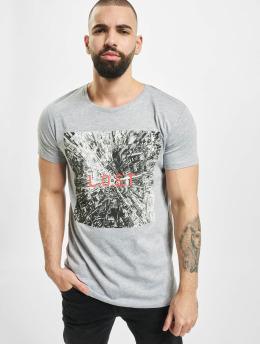 Sublevel Camiseta Graphic  gris