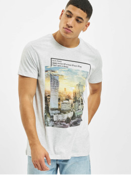 Sublevel Camiseta Big City gris