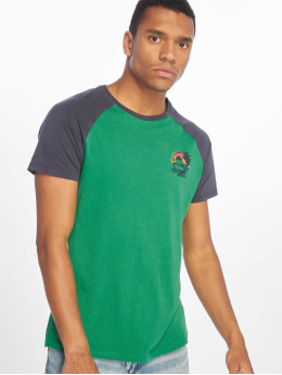 Sublevel Camiseta Palm Springs verde