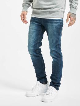 Sublevel dżinsy przylegające Classic niebieski