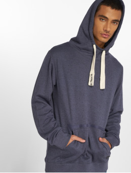 Sublevel Hoodies Washed modrý