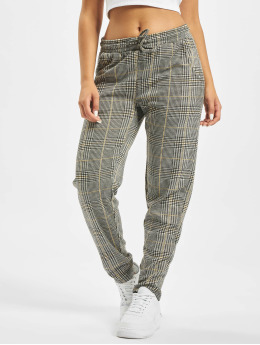 Sublevel joggingbroek Checkered grijs