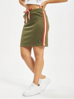 Sublevel Kjol Stripes grön