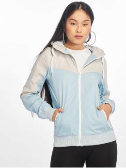 Sublevel Lightweight Jacket ColorBlock  blue