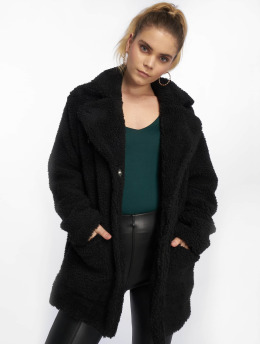 Sublevel Manteau Fake Sherpa noir