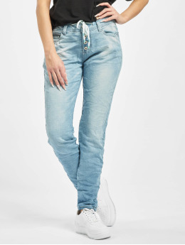 Sublevel Pantalon chino Denim bleu