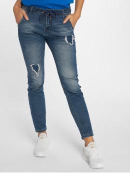 Sublevel Pantalón deportivo Denim Jogger Pants azul