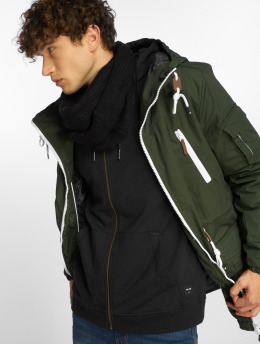 Sublevel Parka Pockets groen