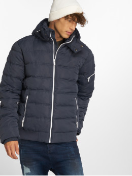Sublevel Puffer Jacket Zipper blau