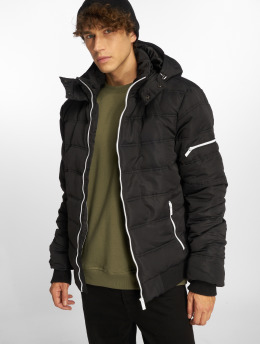 Sublevel Puffer Jacket Zipper schwarz