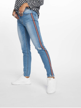 Sublevel Frauen Skinny Jeans Middle in blau