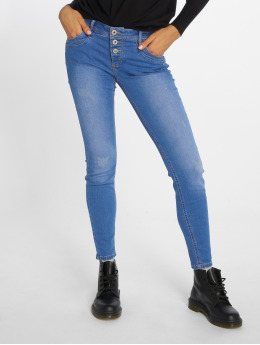 Sublevel Skinny Jeans Denim modrý