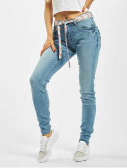 Sublevel Skinny Jeans Lea niebieski
