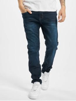 Sublevel Slim Fit Jeans Leon modrá