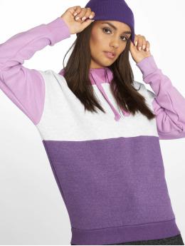 Sublevel Sudadera Colourblock púrpura
