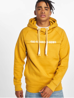 Sublevel Sweat capuche Haka  jaune