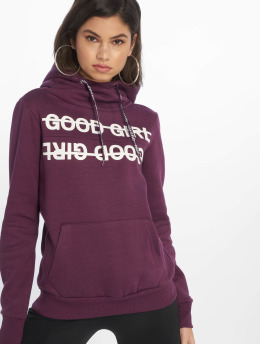 Sublevel Sweat capuche Good Girl pourpre