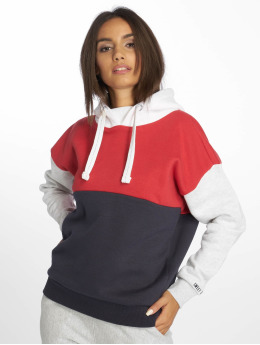 Sublevel Sweat capuche Colourblock rouge