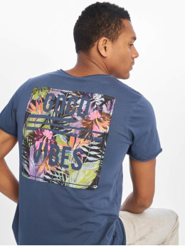 Sublevel T-Shirt Good Vibes blau