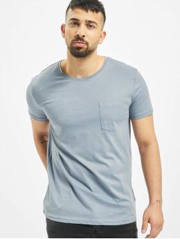 Sublevel T-Shirt Pocket blau