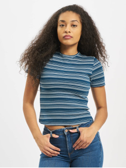 Sublevel T-Shirt Shortsleeves Roundneck blau