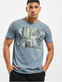 Sublevel T-Shirt City Life blue